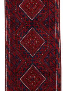 Firebrick Mashwani 2' x 8' 4 - No. 63148