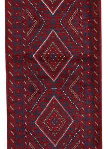 Firebrick Mashwani 2' 4 x 8' 6 - No. 63149