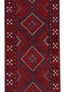 Firebrick Mashwani 2' x 7' 8 - No. 63150