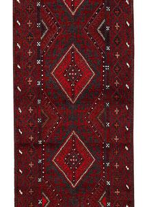 Firebrick Mashwani 2' x 8' 9 - No. 63157