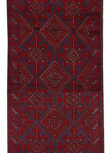 Firebrick Mashwani 2' 1 x 7' 11 - No. 63164