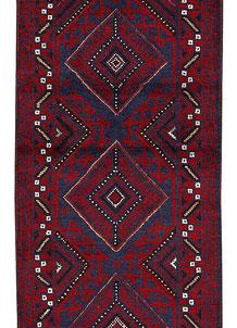 Firebrick Mashwani 2' x 7' 11 - No. 63170