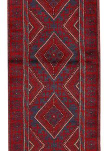 Firebrick Mashwani 2' 3 x 8' 6 - No. 63173
