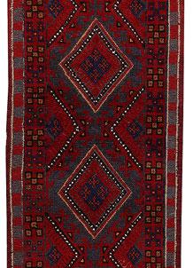 Firebrick Mashwani 2' x 7' 9 - No. 63177
