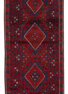 Firebrick Mashwani 2' x 8' 2 - No. 63179