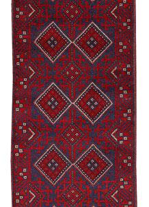 Firebrick Mashwani 2' x 8' 8 - No. 63181