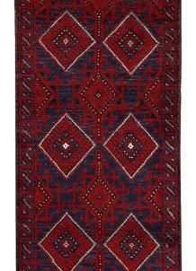 Firebrick Mashwani 2' 2 x 8' 6 - No. 63183
