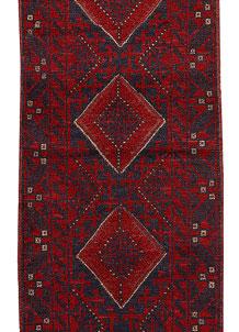 Firebrick Mashwani 2' x 8' 6 - No. 63185
