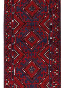 Firebrick Mashwani 2' 1 x 7' 11 - No. 63192