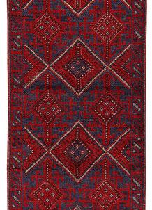Firebrick Mashwani 2' x 7' 10 - No. 63197