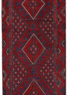Firebrick Mashwani 2' 1 x 7' 10 - No. 63198