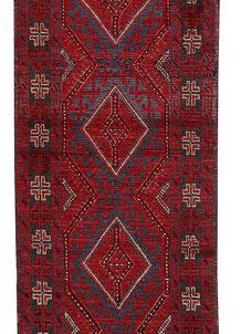 Firebrick Mashwani 2' x 8' 8 - No. 63206