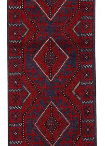 Firebrick Mashwani 2' x 8' 4 - No. 63209