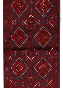 Firebrick Mashwani 2' x 8' 5 - No. 63212