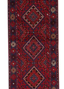 Firebrick Mashwani 2' x 8' 5 - No. 63214