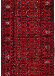 Dark Red Bokhara 2' 8 x 6' 2 - No. 63297