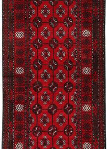 Dark Red Bokhara 2' 4 x 6' - No. 63298