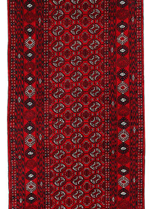 Dark Red Bokhara 2' 8 x 7' 7 - No. 63301