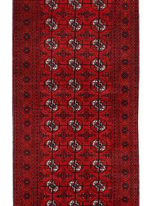 Dark Red Bokhara 2' 7 x 10' 11 - No. 63302