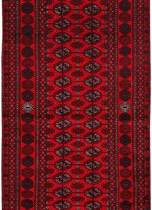 Dark Red Bokhara 2' 7 x 5' 9 - No. 63303