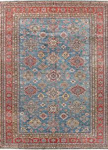 Steel Blue Kazak 8' 11 x 12' - No. 63527