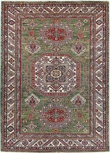 Olivedrab Kazak 5' x 6' 11 - No. 63539