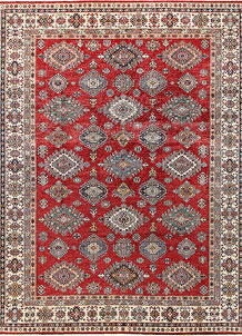 Firebrick Kazak 9' 3 x 11' 10 - No. 63546