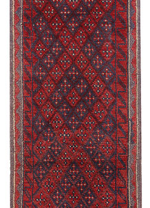 Dark Red Mashwani 1' 10 x 7' 8 - No. 63650
