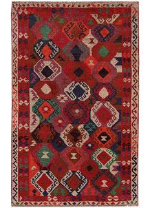 Multi Colored Baluchi 3' 9 x 6' - No. 63993
