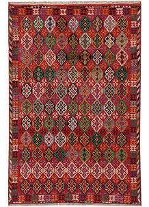 Firebrick Baluchi 3' 11 x 5' 9 - No. 63997