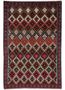 Multi Colored Baluchi 4' x 5' 10 - No. 64000