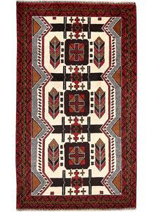 Ivory Baluchi 3' 8 x 6' 4 - No. 64287