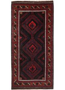 Multi Colored Baluchi 3' 5 x 6' 2 - No. 64302