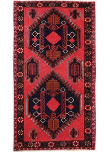 Red Baluchi 3' 5 x 6' 4 - No. 64304