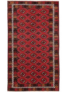 Firebrick Baluchi 3' 3 x 5' 11 - No. 64309