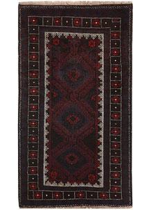 Multi Colored Baluchi 3' 5 x 6' - No. 64319