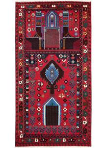 Red Baluchi 3' 1 x 5' 11 - No. 64321