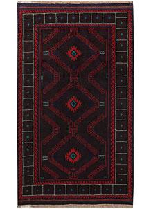 Multi Colored Baluchi 3' 7 x 6' 1 - No. 64322