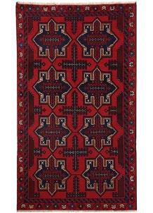 Firebrick Baluchi 3' 6 x 6' - No. 64326