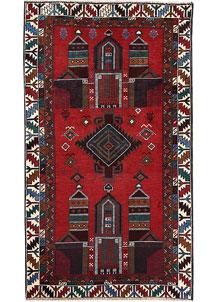 Firebrick Baluchi 3' 5 x 6' - No. 64328