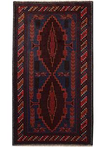 Multi Colored Baluchi 3' 7 x 6' 1 - No. 64331