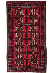 Red Baluchi 3' 8 x 6' 2 - No. 64342