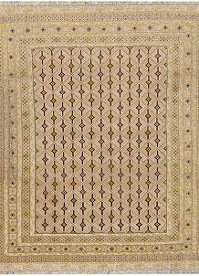 Pale Goldenrod Mashwani 5' 3 x 6' 2 - No. 64377