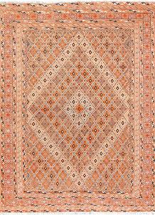 Peach Puff Mashwani 5' 1 x 6' 1 - No. 64412