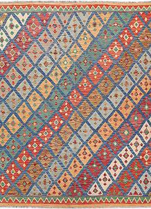 Multi Colored Kilim 7' 1 x 7' 10 - No. 64437