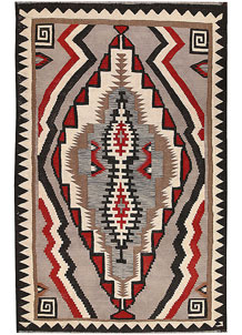 Multi Colored Kilim 6' 1 x 9' 6 - No. 64453