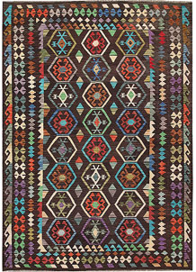 Multi Colored Kilim 6' 11 x 9' 10 - No. 64460