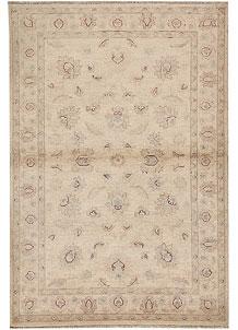 Antique White Oushak 3' 11 x 5' 10 - No. 64648