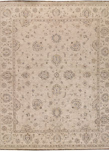 Antique White Ziegler 7' 10 x 9' 8 - No. 64667