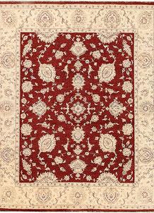 Dark Red Ziegler 7' 9 x 9' 9 - No. 64754